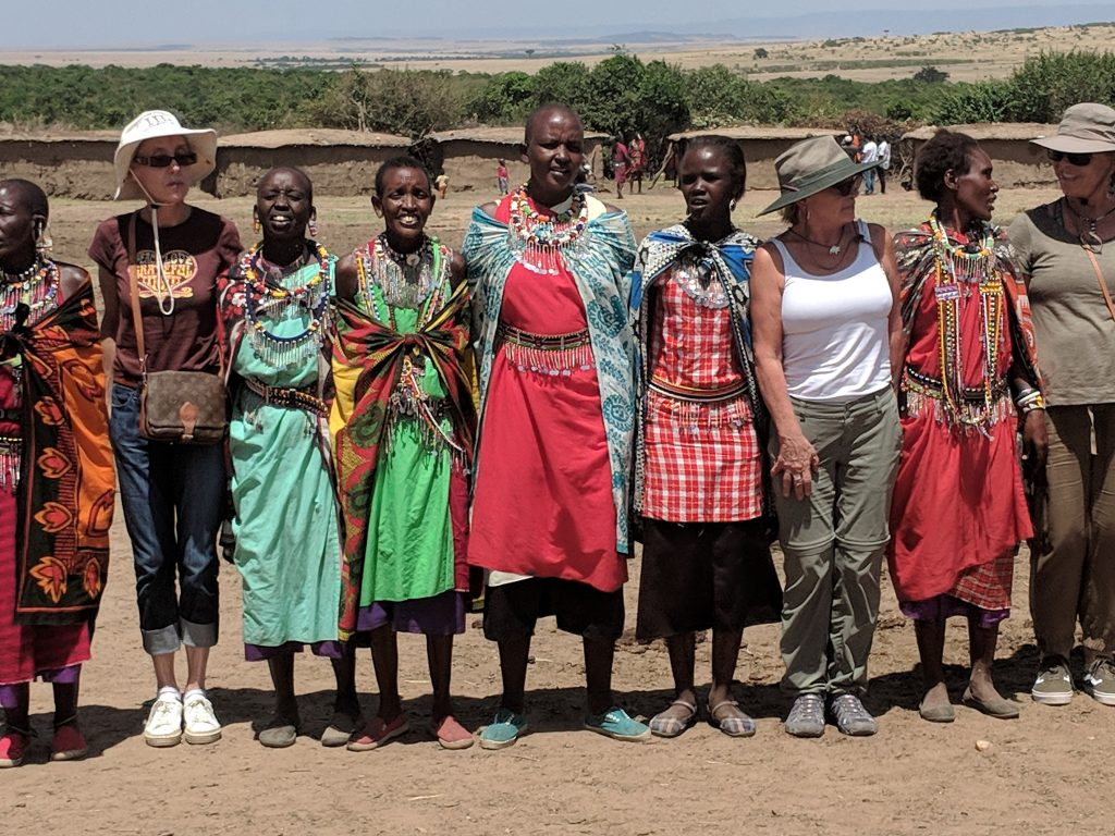 Masai village visit with Women travel with a Purpose