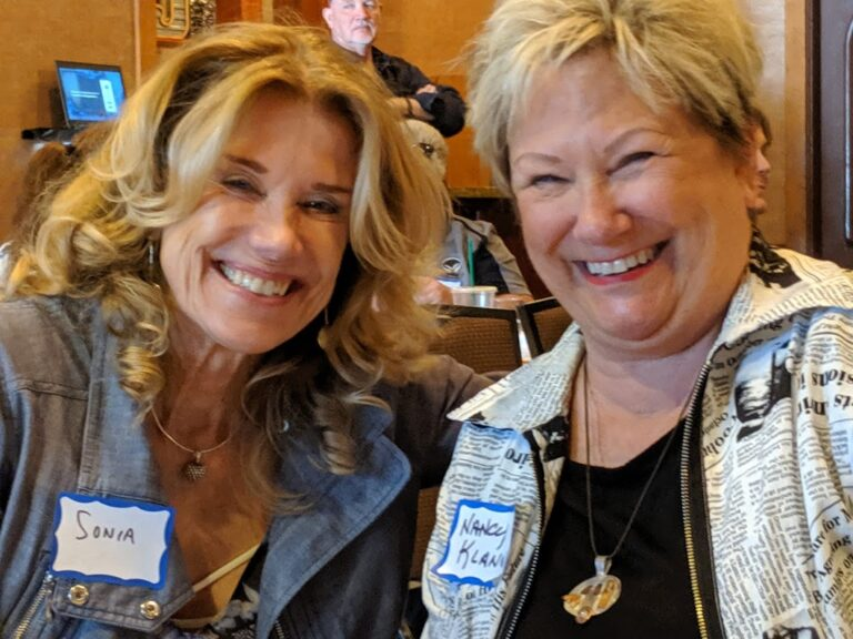 Sonia and Nancy leaders on Rhine River Cruise 2020
